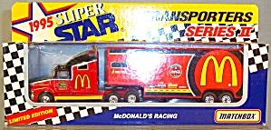 # 94 Bill Elliott McDonald's Racing Matchbox Super Star Transpotrers (Image1)