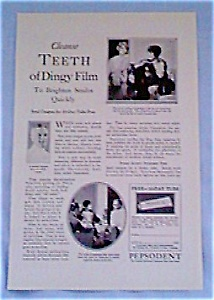 Pepsodent Tooth Paste Ad dec1821 1927 (Image1)