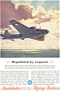 Studebaker Flying Fortress WWII  Ad feb0183 (Image1)