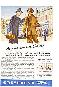 1943 Greyhound Bus Line Ad feb0191 (Image1)