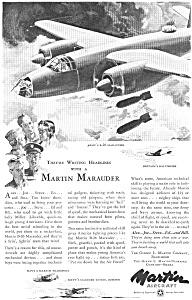1943 Martin Aircraft B 26 Ad feb0193 (Image1)