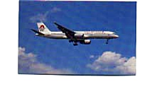America West 757-2S7 Postcard feb0253 (Image1)