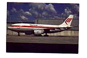 Martinair Holland A310 Postcard feb0258 (Image1)