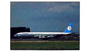 Sabena 707 Airline Postcard feb0955 (Image1)