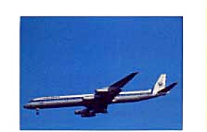 Worldways Canada DC-8 Airline Postcard feb1054 (Image1)
