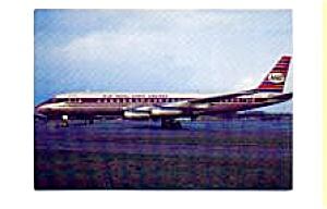 KLM Royal Dutch Airlines DC-8 Postcard feb1057 (Image1)
