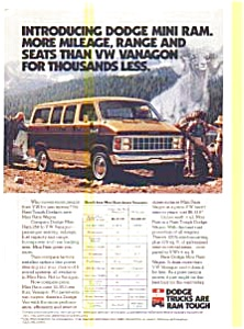 Dodge Mini Ram Wagon AD (Image1)