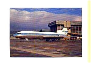 Kuwait Airways Trident Jetliner Postcard feb1860 (Image1)