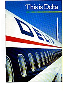 Delta Airlines Booklet