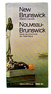 New Brunswick Highway Map