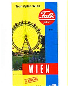 Vienna Tourist Map (Image1)
