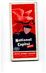 National Capital Area Aaa Map