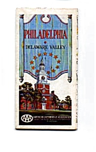 Philadelphia And Delaware Valley Aaa Map
