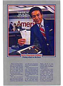 American Airlines Ticket Agent Ad Feb3204