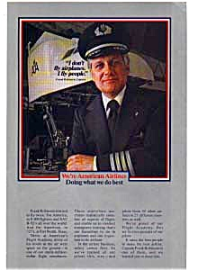 American Airlines Captain Ad Feb3205