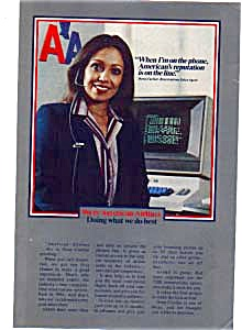 American Airlines Reservation Clerk Ad Feb3207
