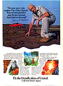 United Fly Drive James Michener Ad Feb3212