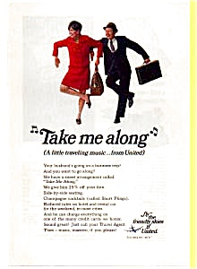 United Take Me Along Song Ad