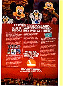 Eastern Airlines Disney World Ad Feb3222