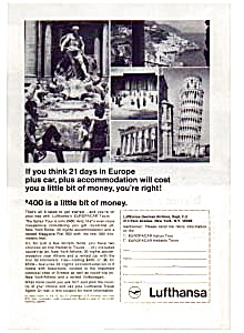 Lufthansa Europe Plus Car Ad Feb3228