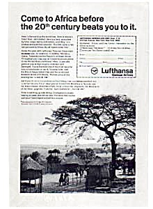 Lufthansa Come To Africa Ad