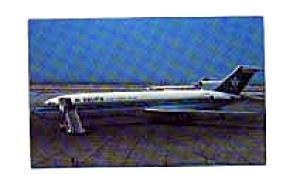 Saudia 727 Airline Postcard feb3238 (Image1)