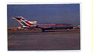 Dominica 727 Airline Postcard feb3244 (Image1)