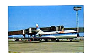 Air Inter  Caravelle Airline Postcard feb3252 (Image1)