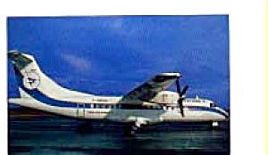 Air Littoral ATR-42 Airline Postcard feb3256 (Image1)