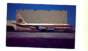 Continental 720 Airline Postcard Feb3259