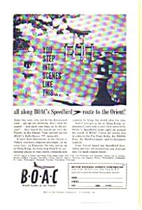 BOAC Speedbird Orient  Tour Ad (Image1)