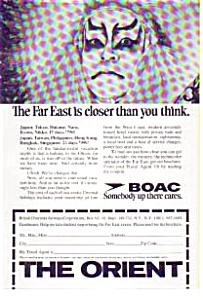 BOAC Orient  Tour Ad (Image1)