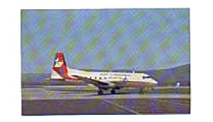 Air Virginia HS-748  Airline Postcard (Image1)