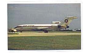 Lan Chile 727 Airline  Postcard feb3336 (Image1)