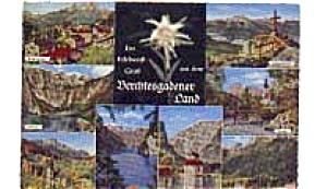 Edelweiss Berchtesgarden Postcard (Image1)