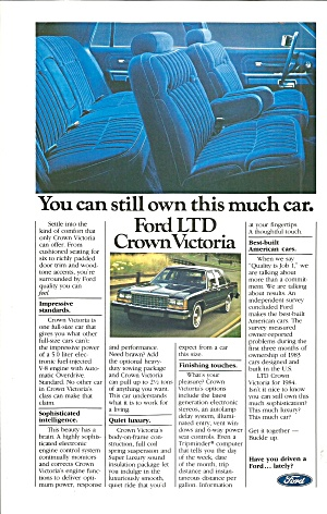 Ford LTD Crown Victoria Ad Ford010 (Image1)