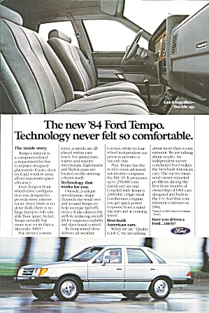 1984 Fordtempo New Technology Ford019