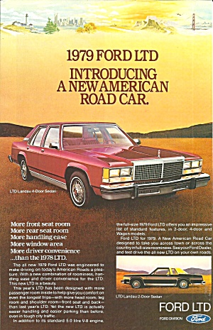 1979 Ford Ltd 4 Door Ford028