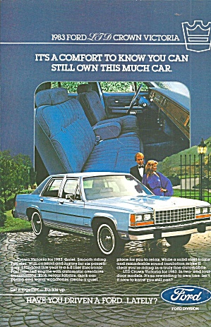 1983 Ford Ltd Crown Victoria 4 Door Ford029