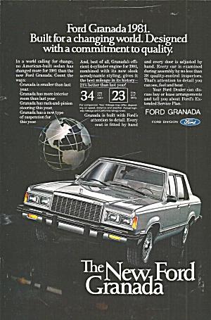 1981 Ford Granada 4 Door Ford030 (Image1)