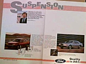 Ford Tempo And Continental Mark Vii Suspension Ford037