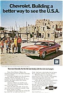1972 Chevy Chevelle Malibu  Ad jan0376 (Image1)