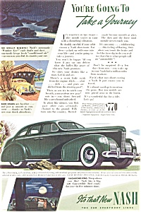 1939 Nash Automobile Ad (Image1)