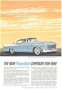 1956 Chrysler Windsor Power Style Ad (Image1)