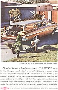 1959 Chevrolet Nomad Wagon  Ad (Image1)