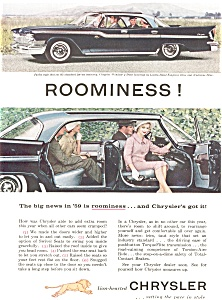1959 Chrysler Windsor Hardtop Ad