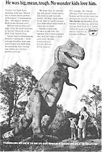 Sinclair Oil T-Rex World's Fair Ad (Image1)