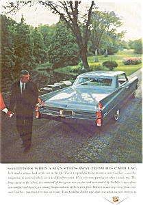 1963 Cadillac 2 Door Hardtop Ad jan0886 (Image1)