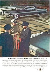 1963 Cadillac Chauffers  Talk Ad (Image1)