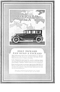 1924 Packard Automobile Ad